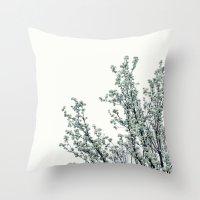 Soft White Throw Pillow