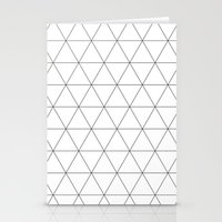 Triangle Tessallation Stationery Cards