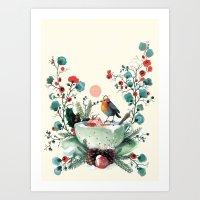 Wesh Love. Art Print