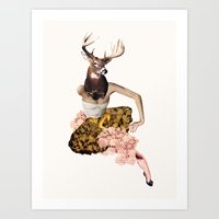 Femme Buck Art Print