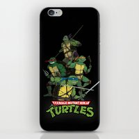 TMNT iPhone & iPod Skin
