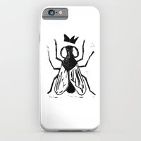 Fly Linocut iPhone 6 Slim Case
