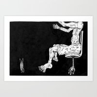 Los Cucharoachos Art Print