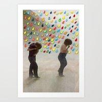 Please Be Happy Art Print