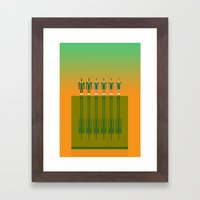 Aussie Rules  Framed Art Print
