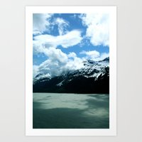 Clouds And Water Art Print