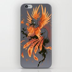 The Avian Arsonist iPhone & iPod Skin