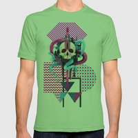 BeautifulDecay II Mens Fitted Tee Grass SMALL