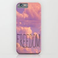 iPhone & iPod Case featuring Freedom  by Rachel Burbee