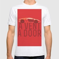 A Vent, A Door Mens Fitted Tee Ash Grey SMALL