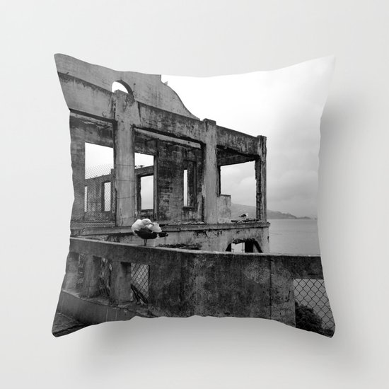 It all ends Throw Pillow
