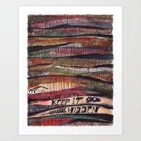 Keep it Hidden Art Print