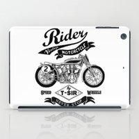 Rider iPad Case