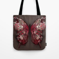 Gothic Butterfly Tote Bag
