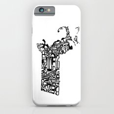 Typographic Massachusetts Slim Case iPhone 6s