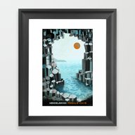 Framed Art Print featuring Fingal's Cave Overture -… by Prelude Posters