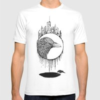 Scavenger Mens Fitted Tee White SMALL
