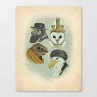 Birds of Pray Canvas Print