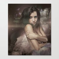 COSMIC FORCES Canvas Print