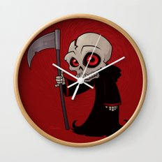 Little Reaper Wall Clock