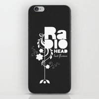 Radiohead Song - Last Fl… iPhone & iPod Skin