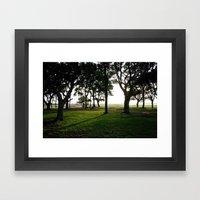 fort fisher Framed Art Print