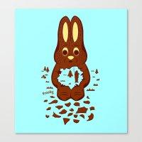 Chocolate Hunting Canvas Print