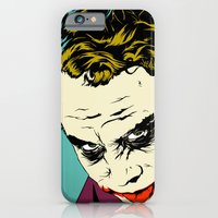 iPhone & iPod Case featuring Joker So Serious by Vee Ladwa