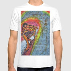Indian Summer  Mens Fitted Tee SMALL White