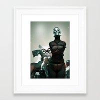 Dr. Cat Framed Art Print