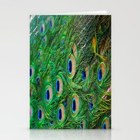 Peacock Passion Stationery Cards