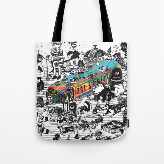 GLOBAL A GO-GO Tote Bag