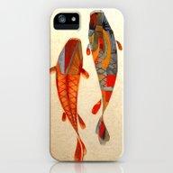 Kolors Koi iPhone (5, 5s) Slim Case