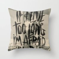 THE KINKS Throw Pillow