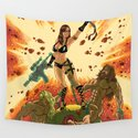 Babe of the Galaxy Wall Tapestry