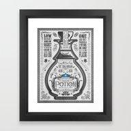 Legend Of Zelda Blue Chu… Framed Art Print