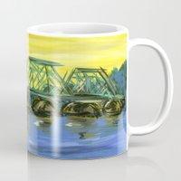 New Hope-Lambertville Bridge Mug