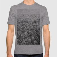 LA MER ENCORE Mens Fitted Tee Athletic Grey SMALL