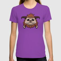 Friend Womens Fitted Tee Ultraviolet SMALL