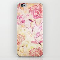 VINTAGE FLOWERS IX - for iphone iPhone & iPod Skin