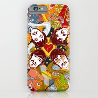 iPhone Cases featuring Sgt. Pepper's Lonely Hearts Club Band by Julia Minamata