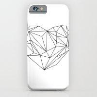 Heart Graphic (black on white) iPhone 6 Slim Case