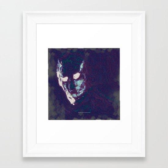 Mister Mist Framed Art Print
