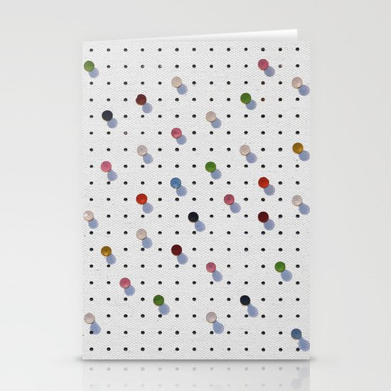 Pin Points Stationery Card