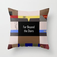 DS9 - Far Beyond The Sta… Throw Pillow