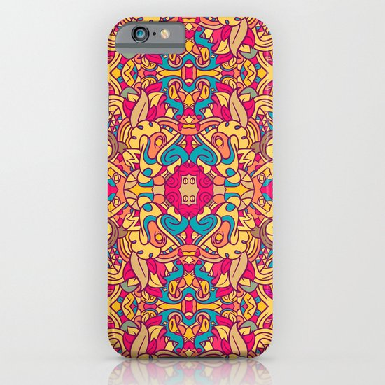 Eye Of The Beast Pattern iPhone & iPod Case