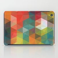 Transparent Cubism iPad Case