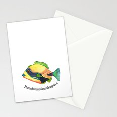 H is for Humuhumunukunukuapua'a Stationery Cards