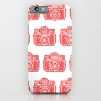 I Still Shoot Film Holga Logo - Red iPhone 6 Slim Case