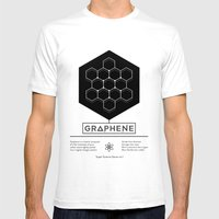 Graphene: Super Science Series No.1  Mens Fitted Tee White SMALL